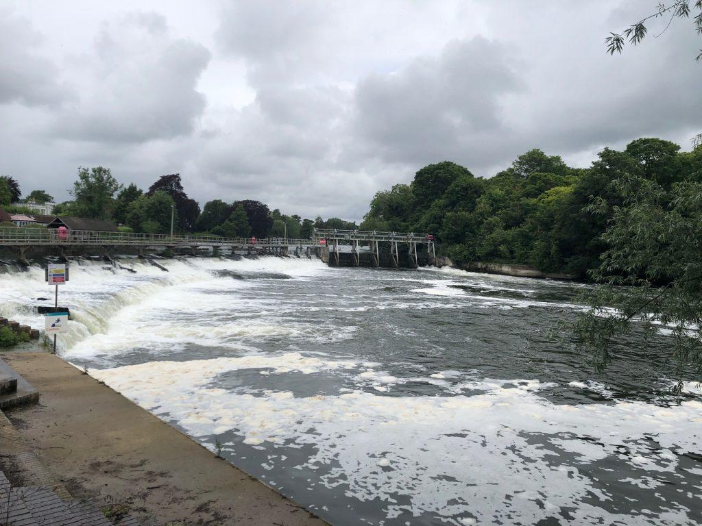 Boulters Weir Maidenhead
