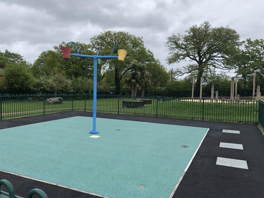 Splash Pad Locks Ride Recreation Ground