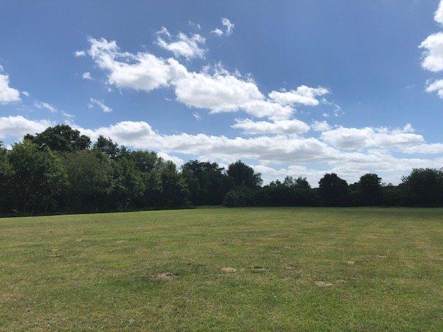 Field by car park at Shepherd Meadow