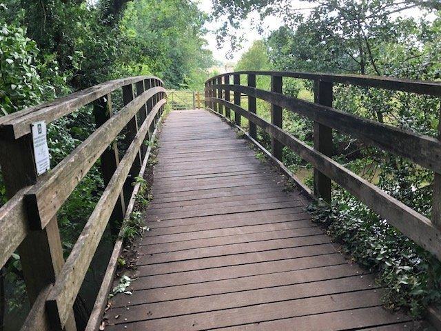 Bridge at Shepherd Meadow