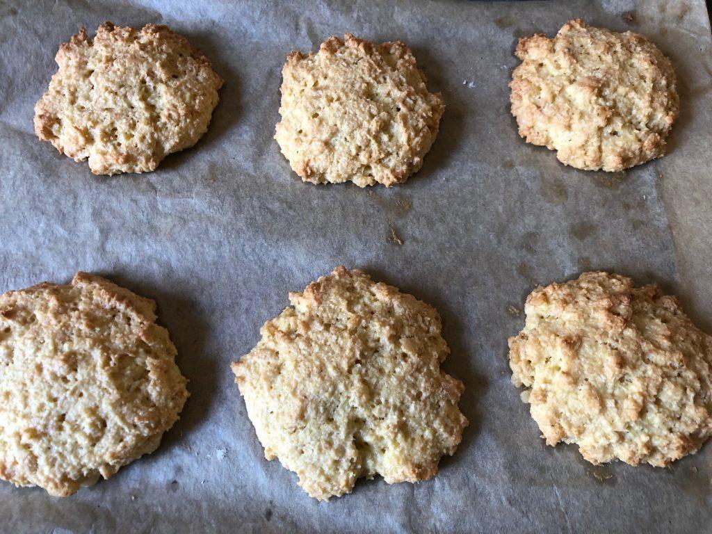 Coconut Crunch Cookies Cooked
