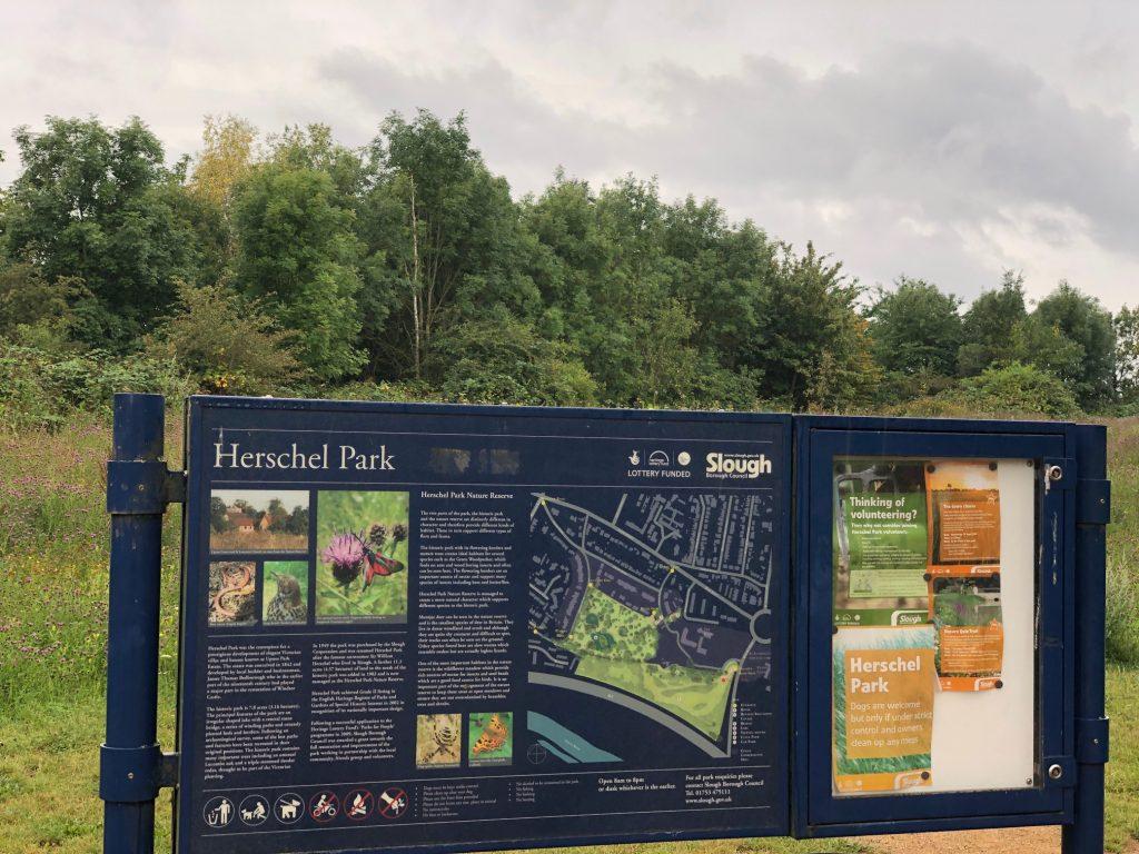 Herschel Park Map