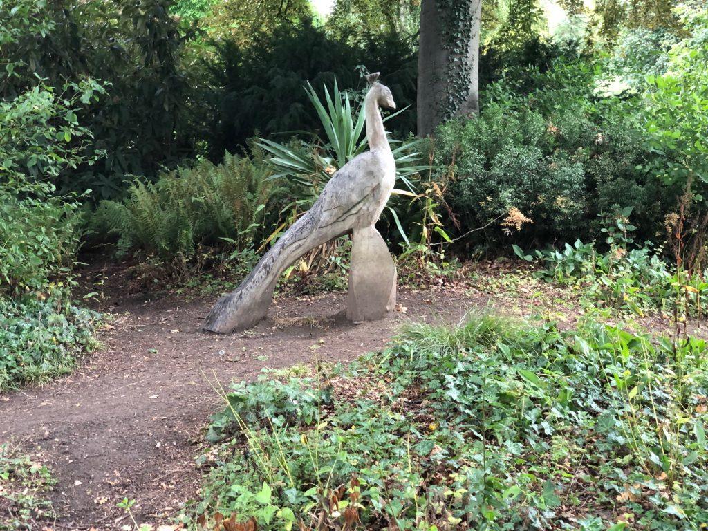 Peacock Wooden Sculptures