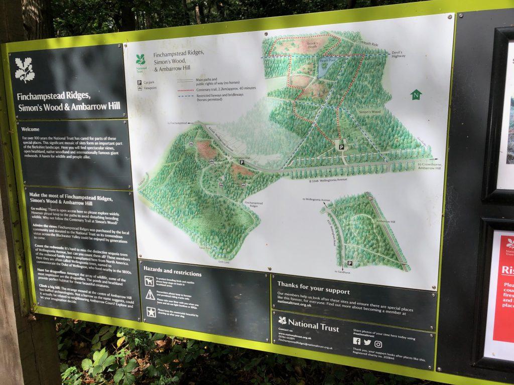 Simon's Wood Map