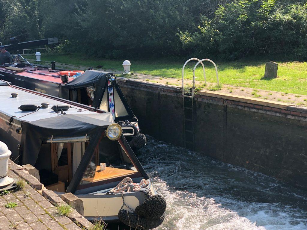 Boats in Lock 96
