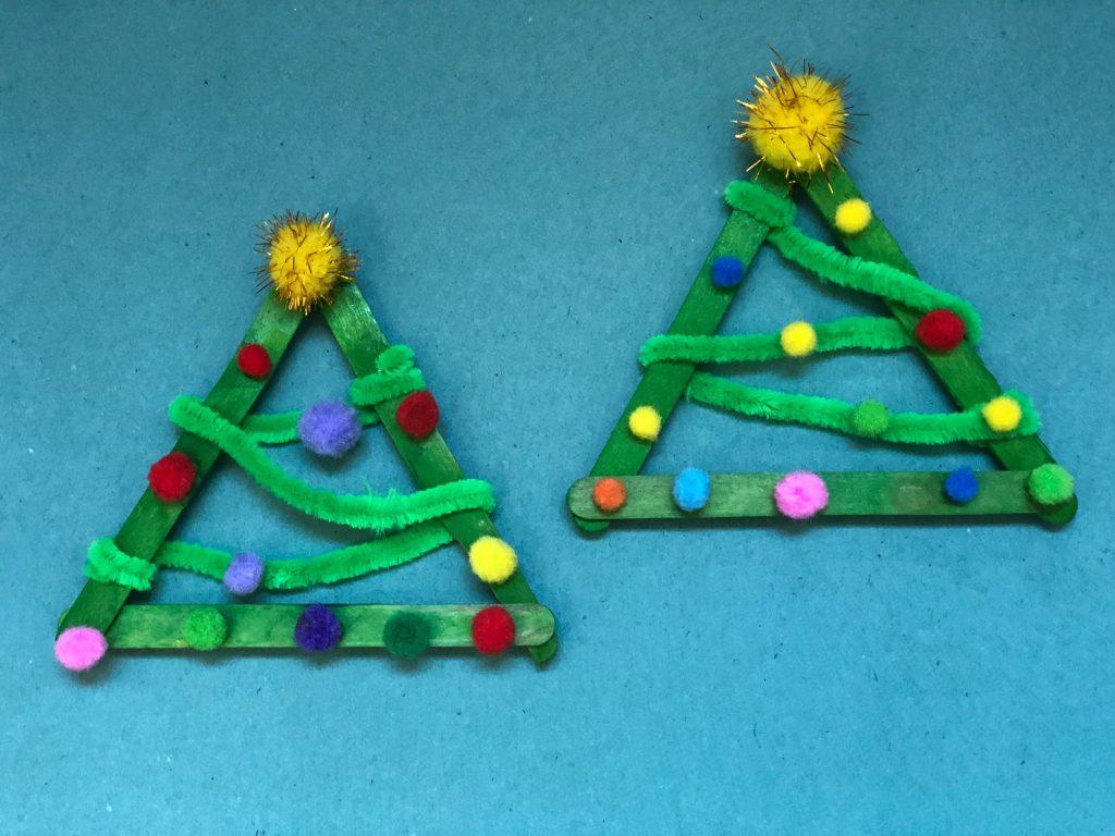 Homemade Christmas Tree Craft