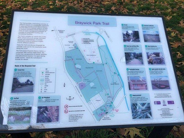 Braywick Park Trail Map