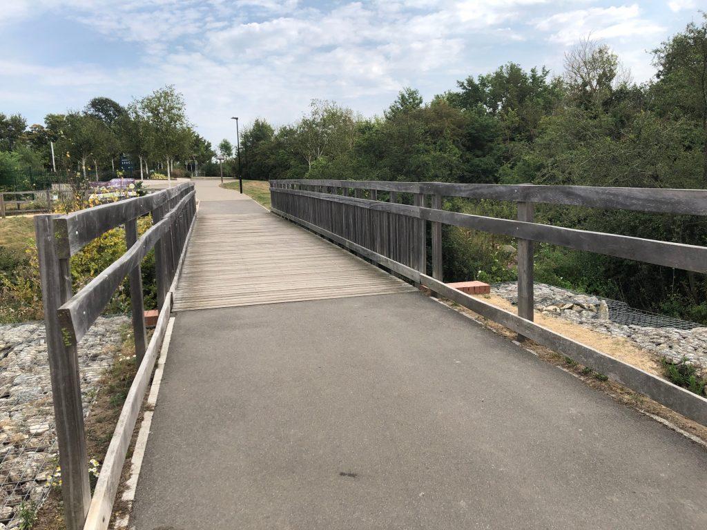 Larger Bridge at Cabbage Hill