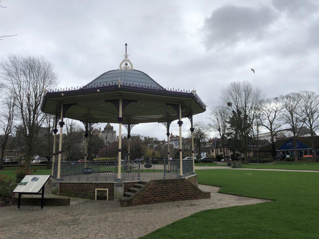 Bandstand Alexandra Garden