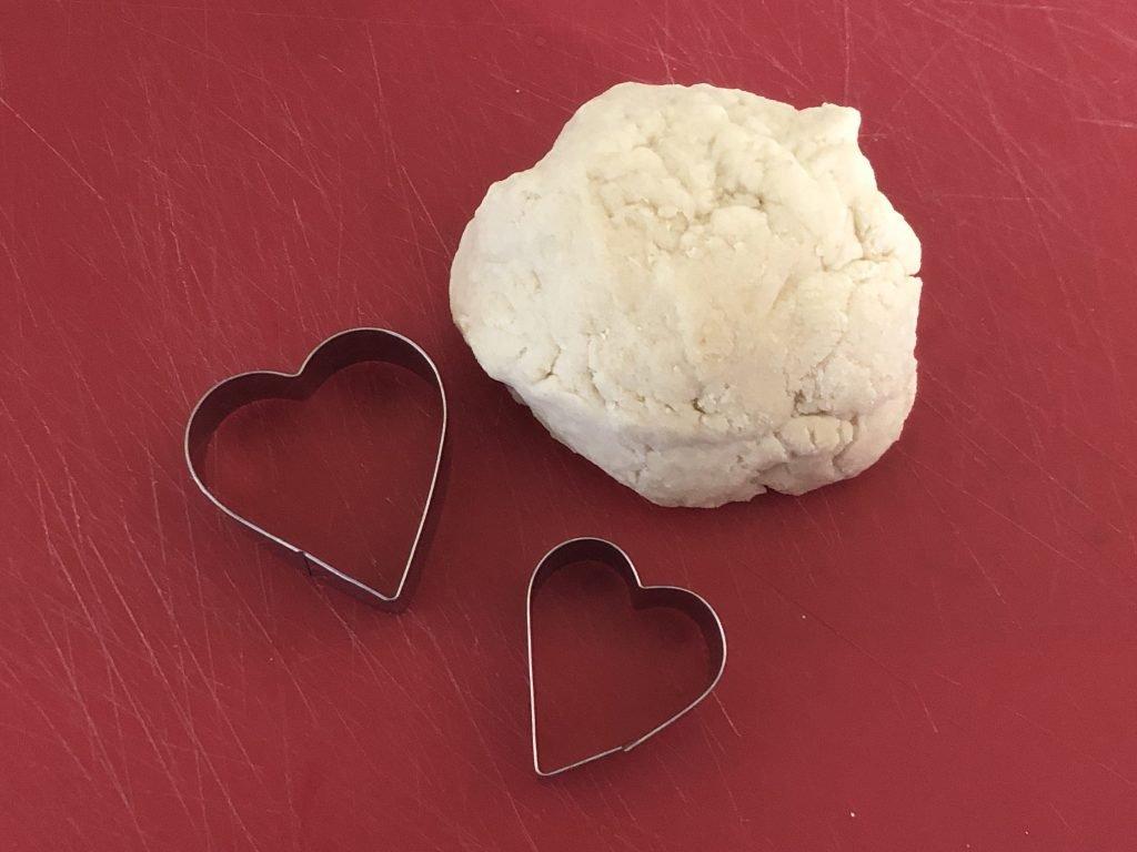 Salt Dough and Heart Cutter