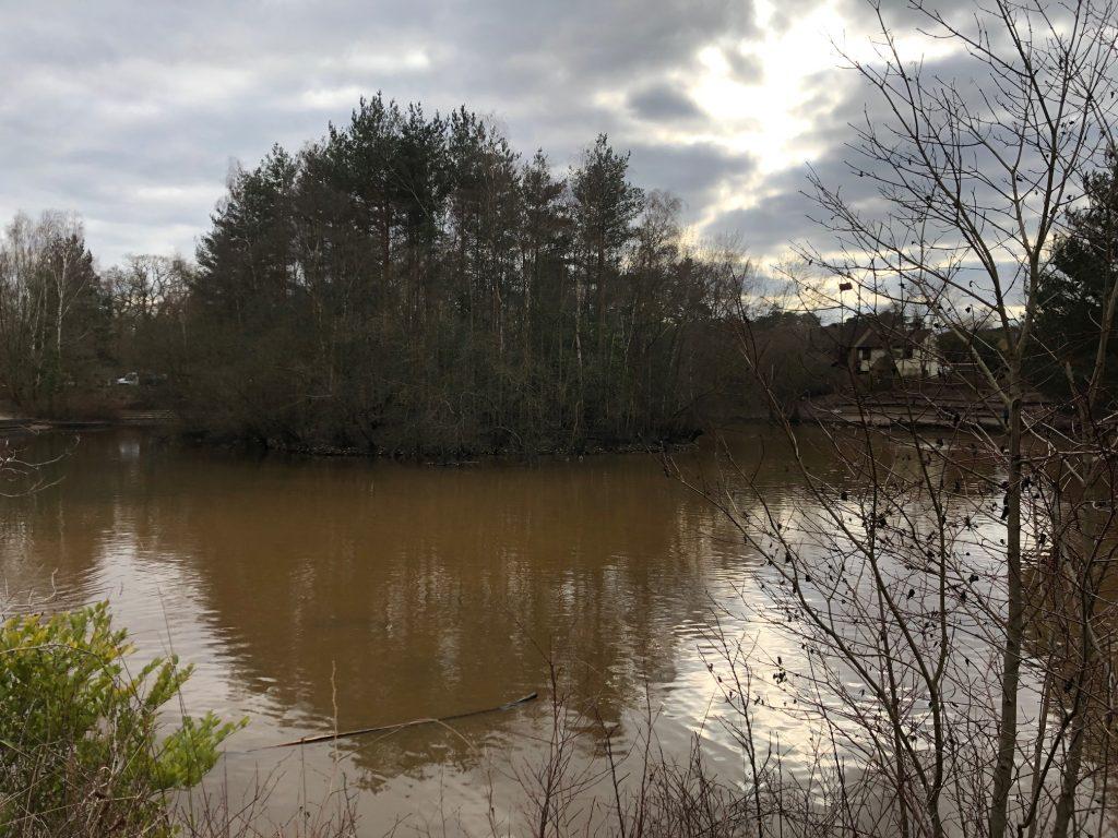 Savernake Park Balancing Pond