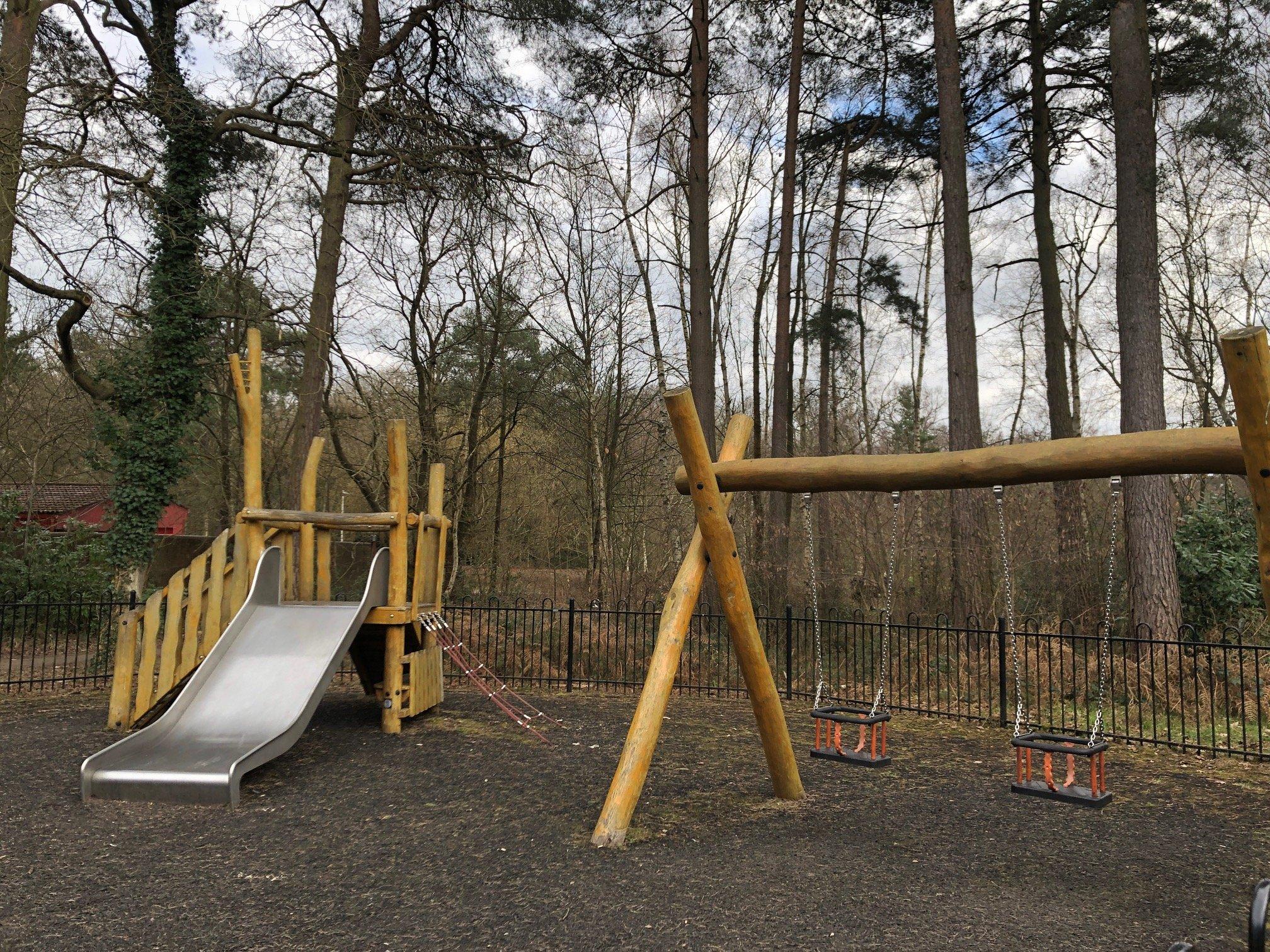 Toddler Play Area Savernake Park