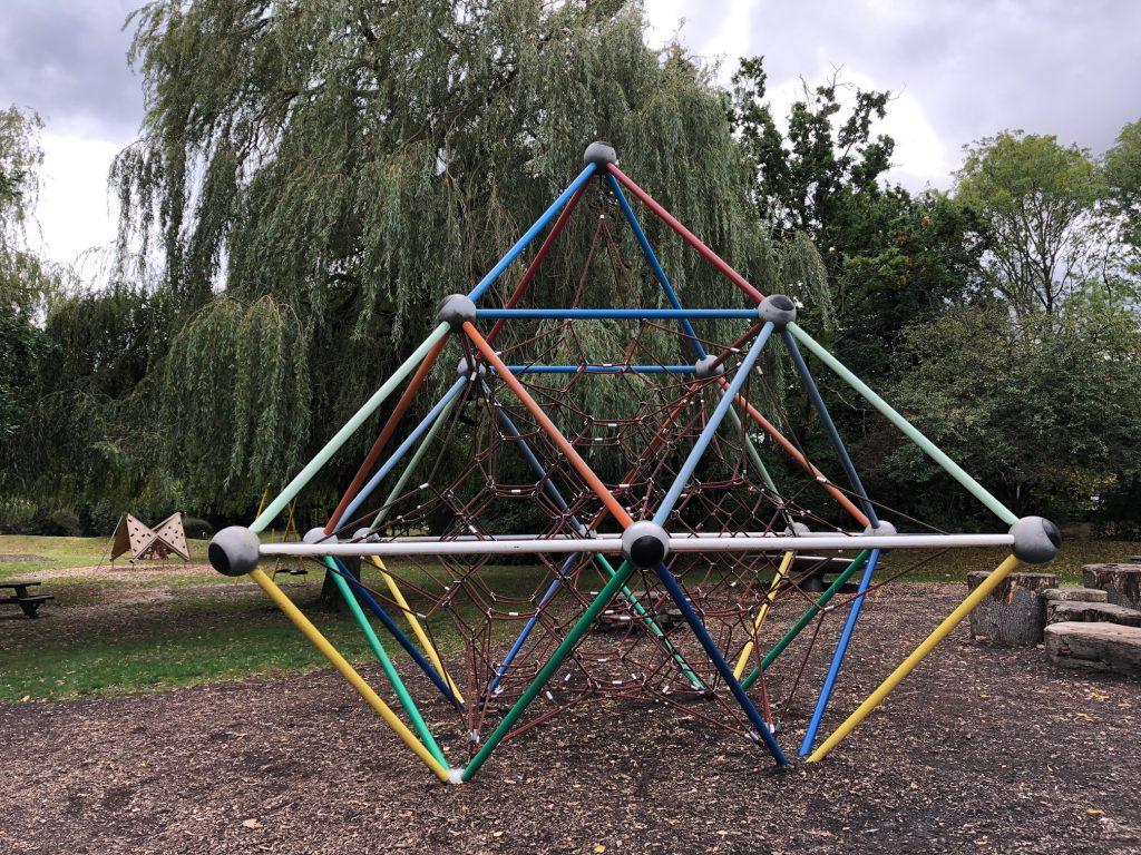 Climbing Frame at Mill Park Bracknell