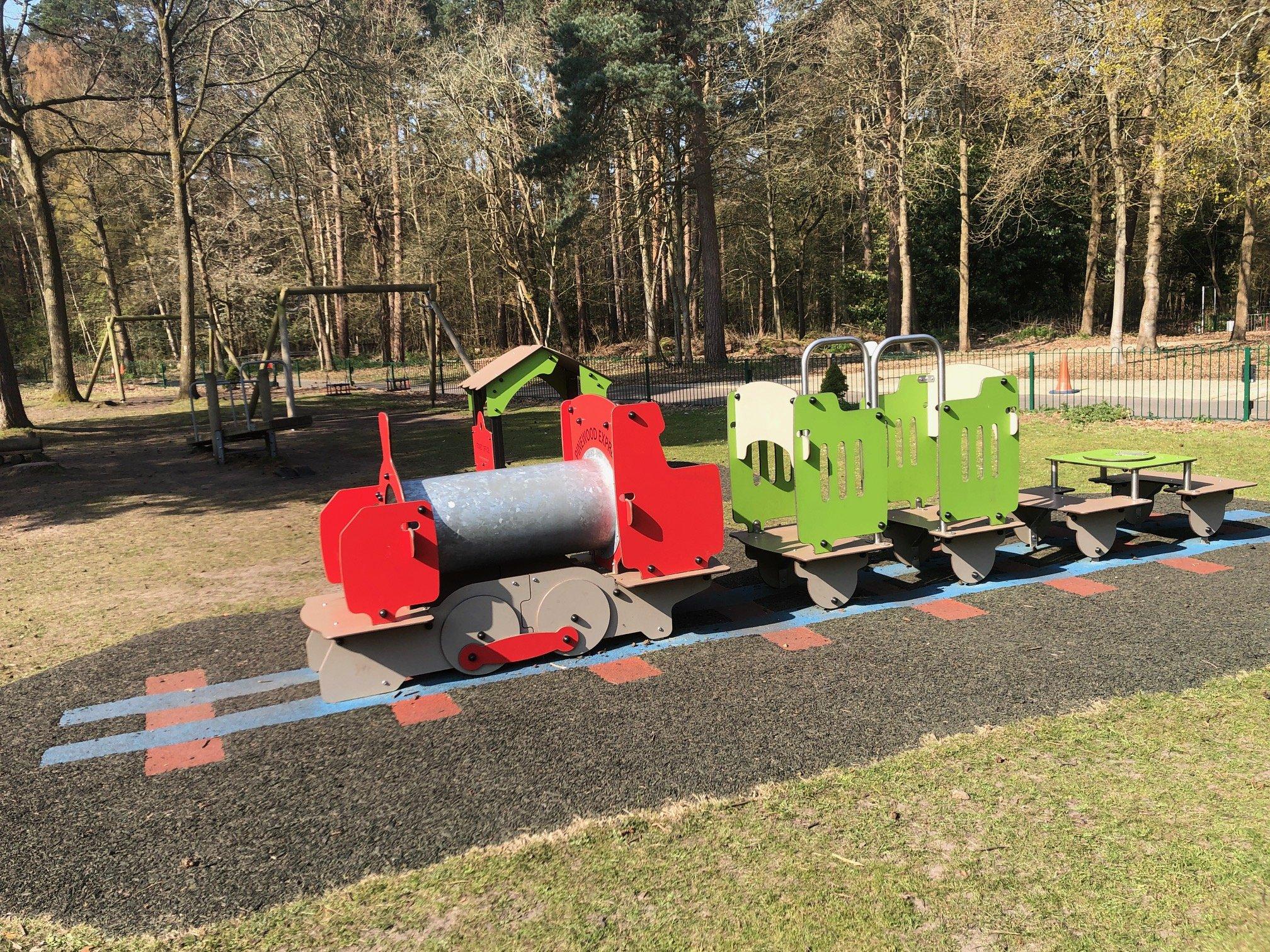 Pinewood Centre Playground Train