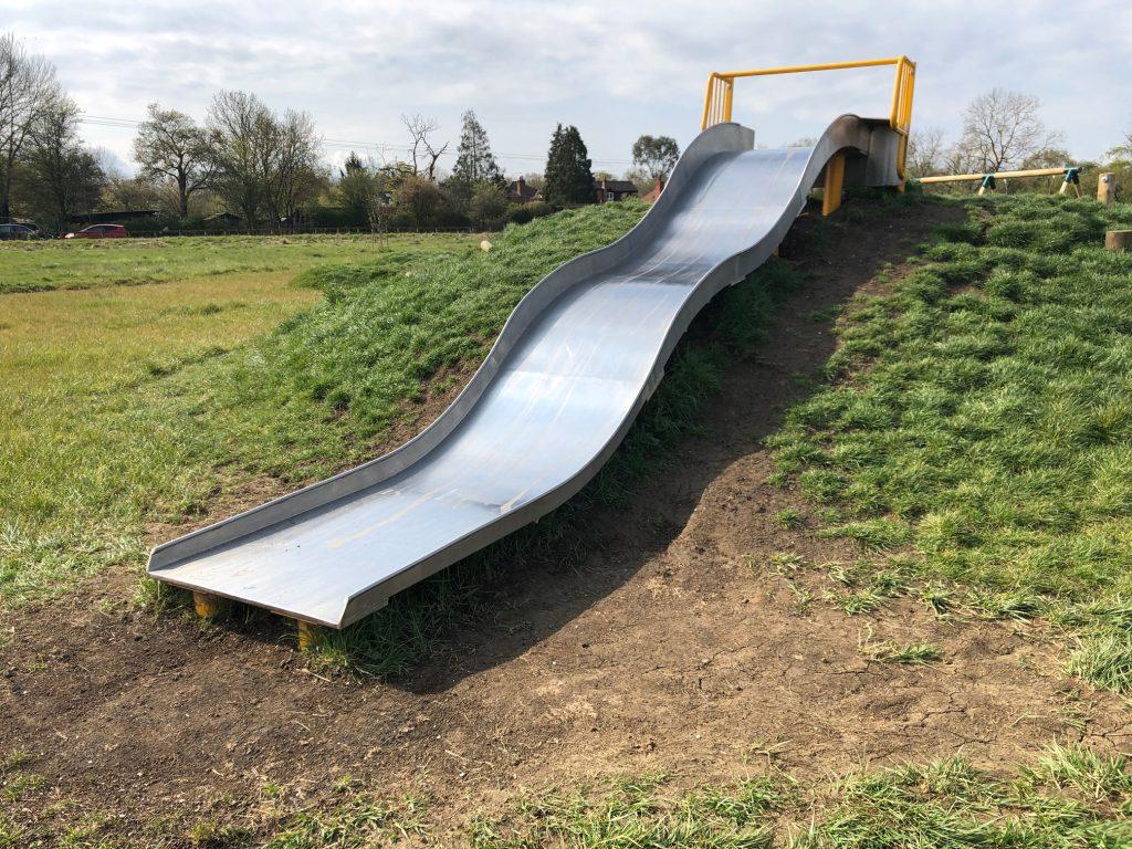 Slide at Shurlock Road Nature Reserve