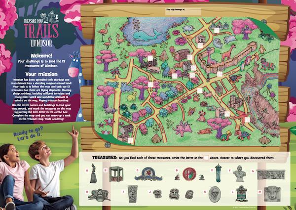 Treasure Map Trails Windsor