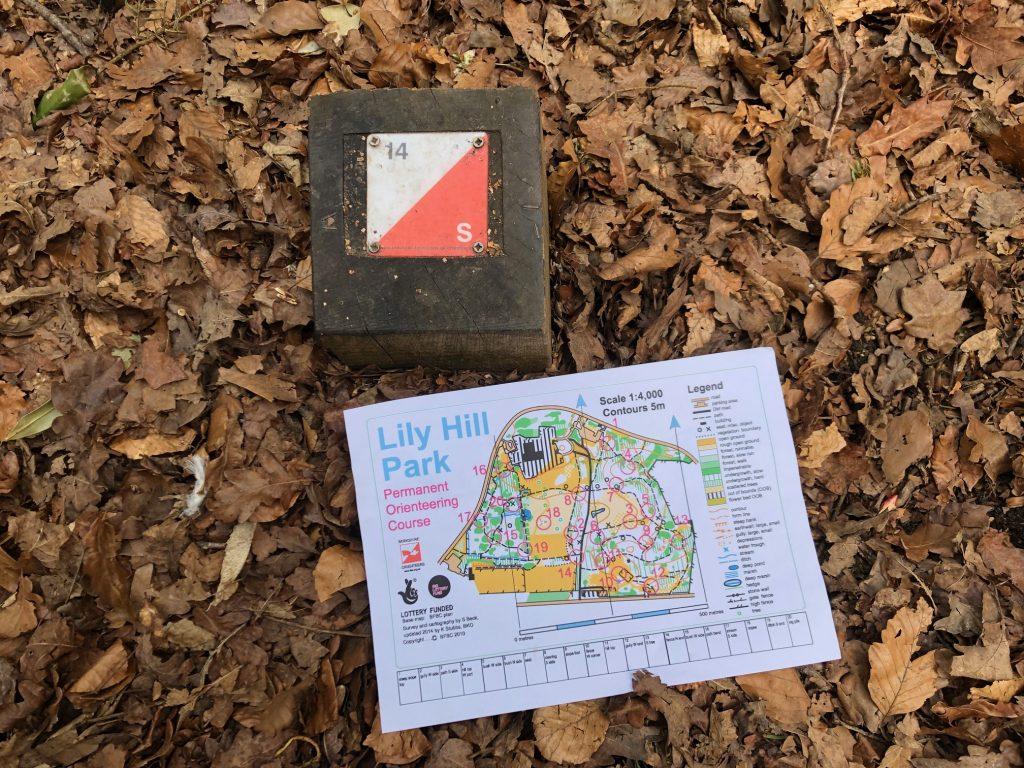 Orienteering in Berkshire