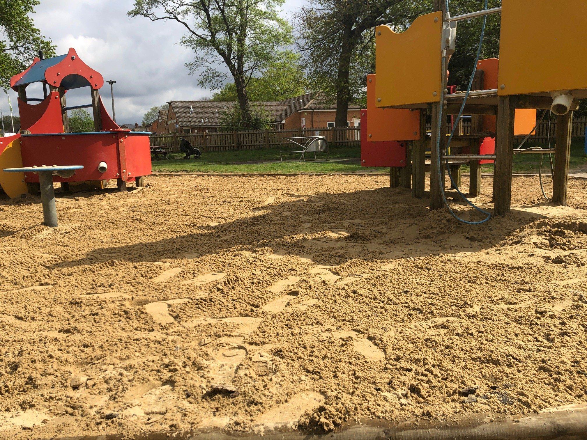 Sandhurst Memorial Park Sand Pit