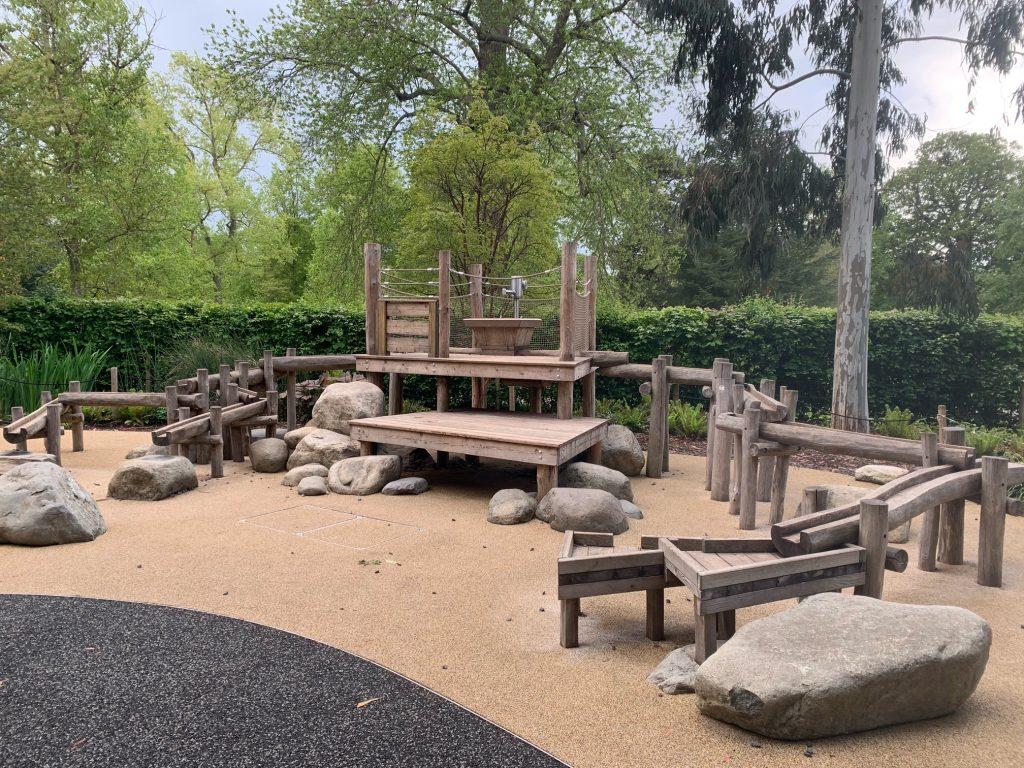 Water Garden at The Children's Garden at Kew