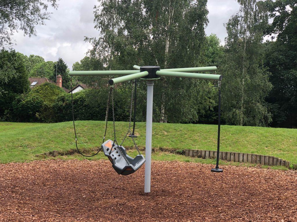 Helicopter Swing Riverside Gardens Maidenhead
