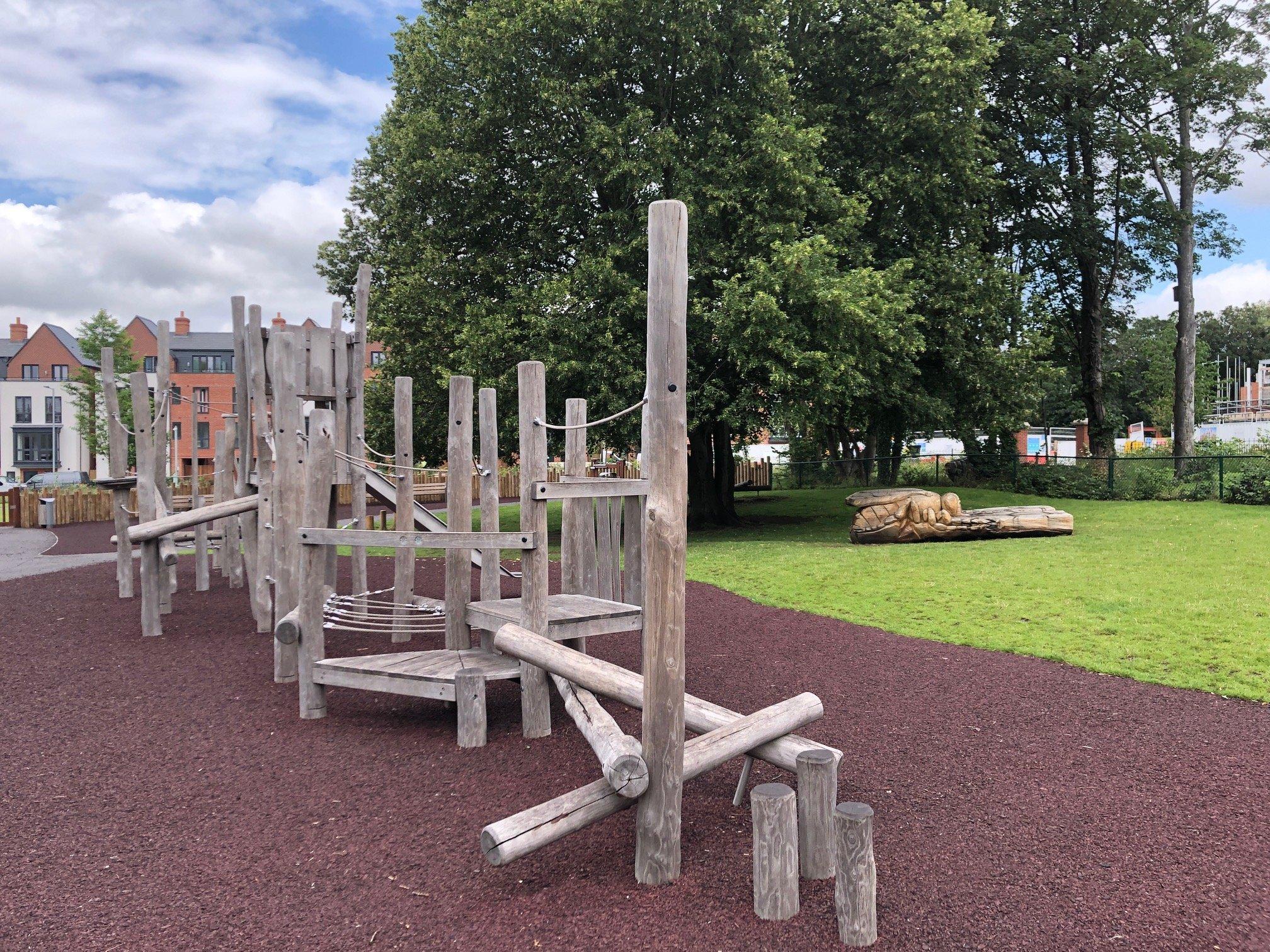 Elms Field Play Area and Park Wokingham