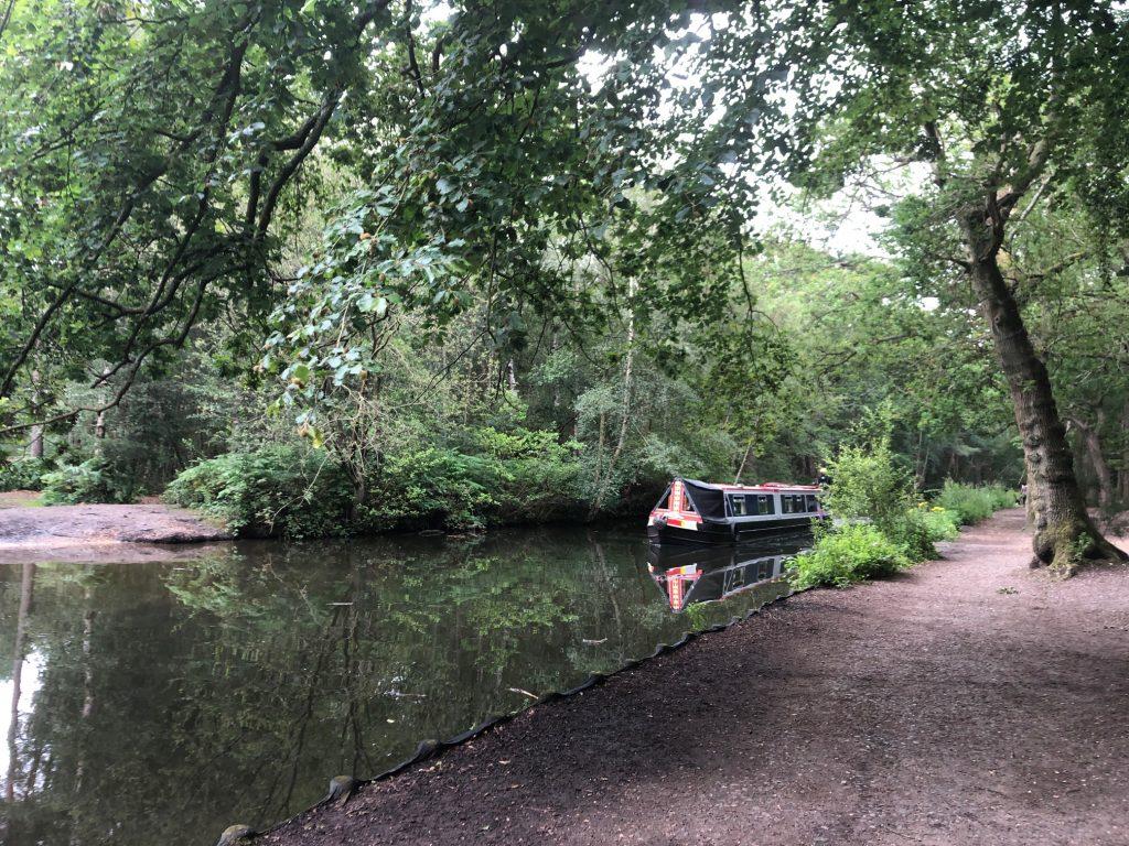 Canal Walk at Basingstoke Canal