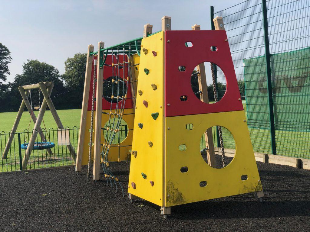 Recreation Ground Play Area Climbing Frame