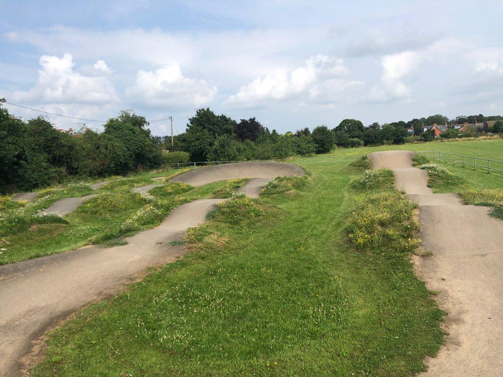 Bike Track Wargrave Recreation Ground