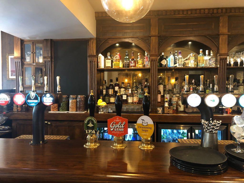 Bar at The Greyhound Finchampstead