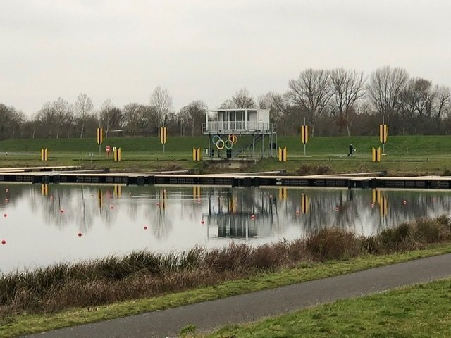 Walking at Dorney Lake