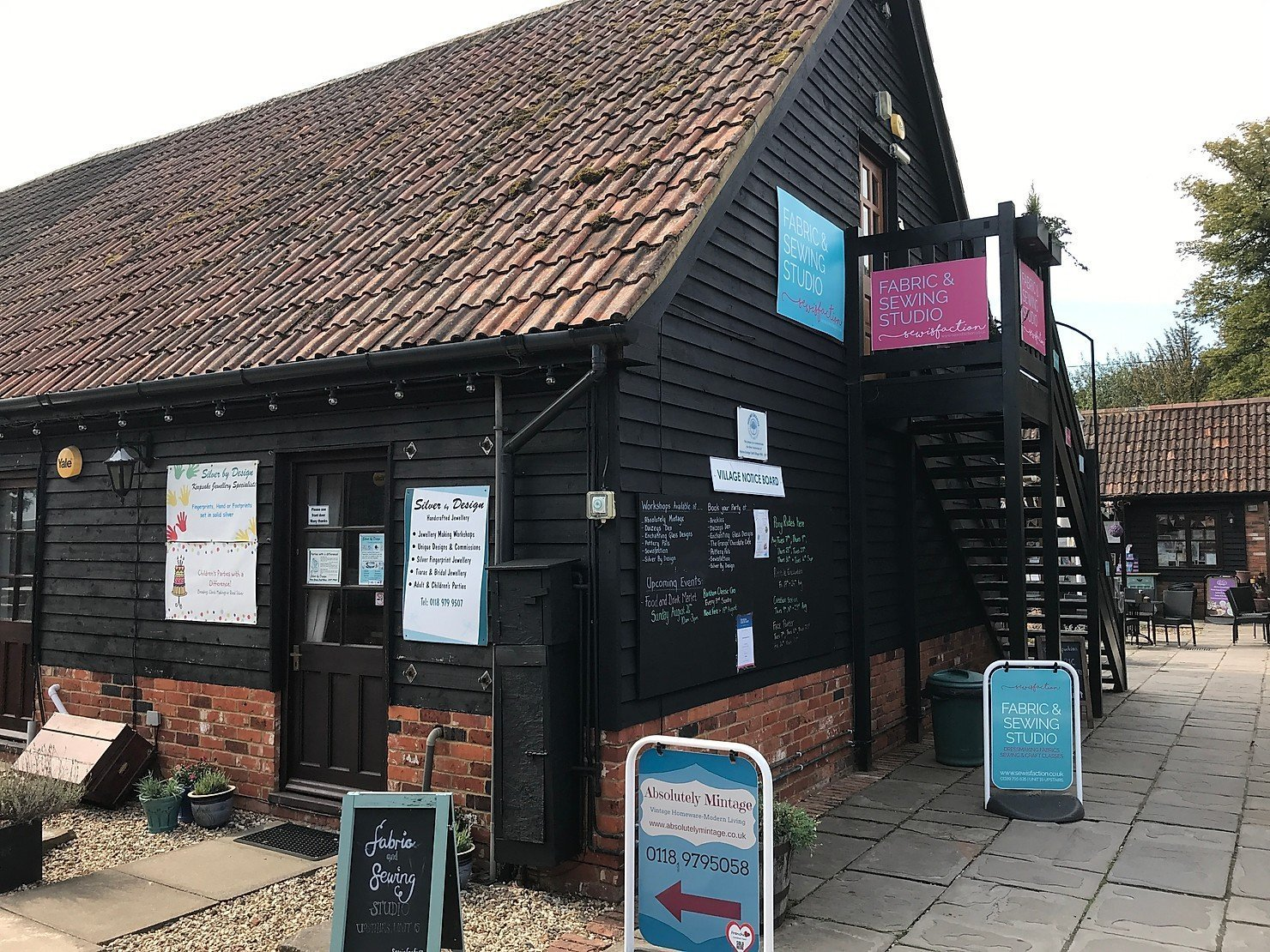 A visit to Holme Grange Craft Village, Wokingham