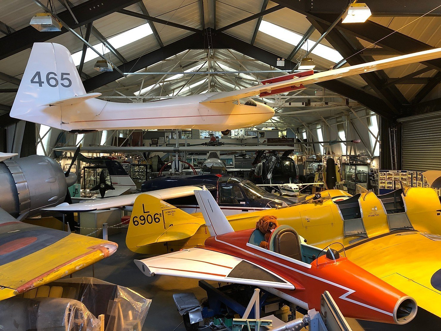 A visit to the Museum of Berkshire Aviation, Woodley
