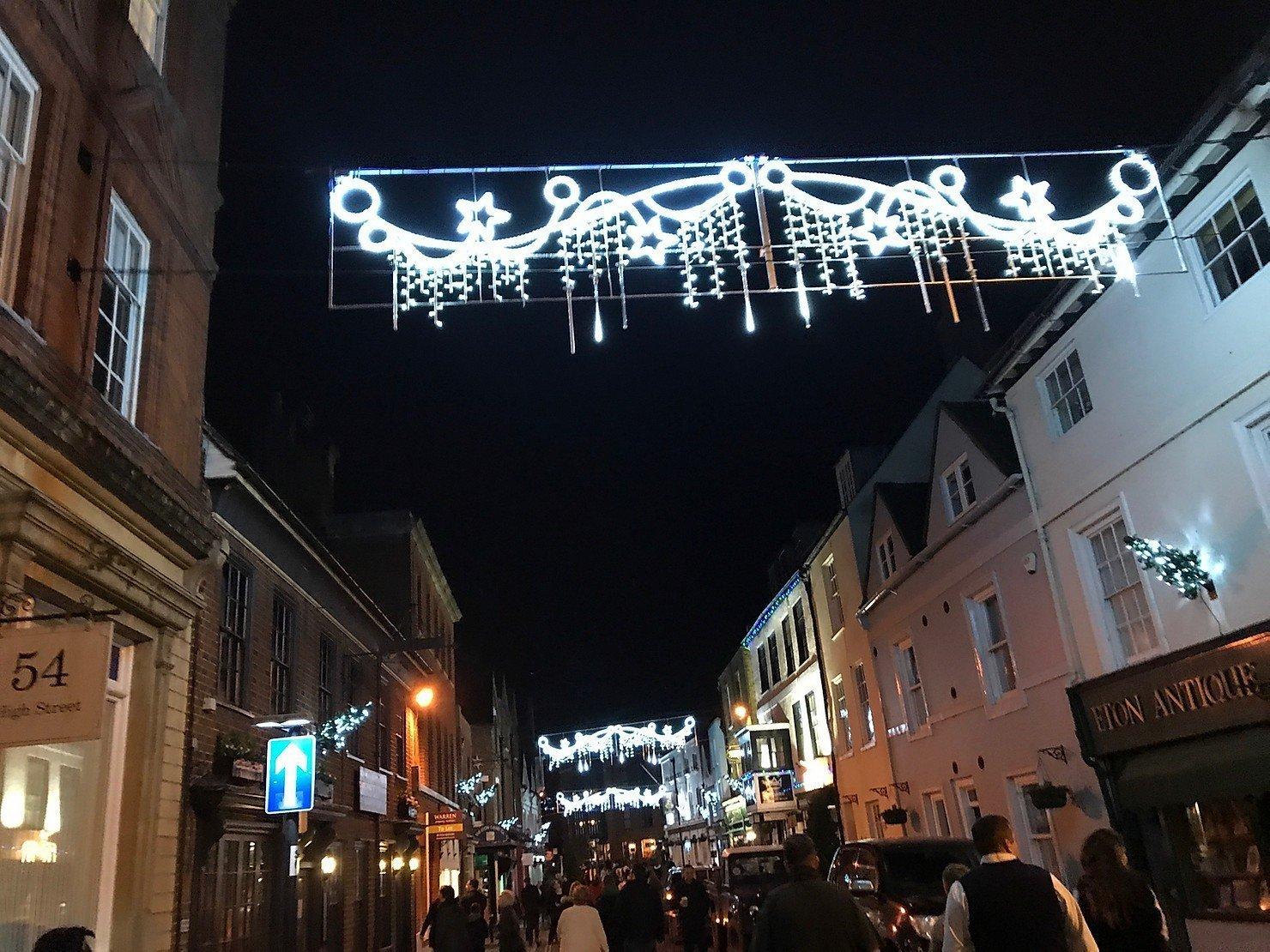 Christmas Lights Switch On, Berkshire 2018