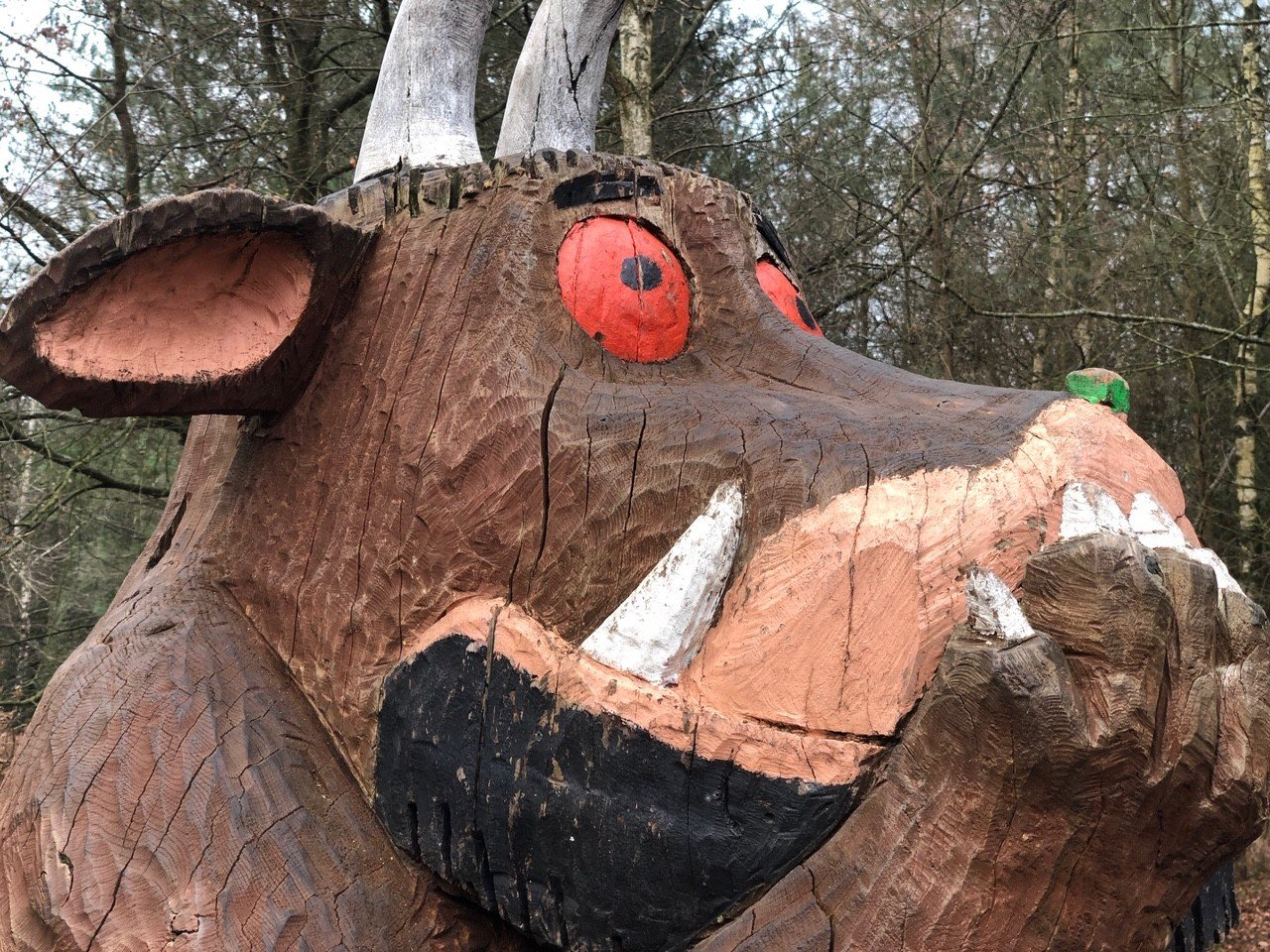 Alice Holt Forest, Gruffalo Sculptures