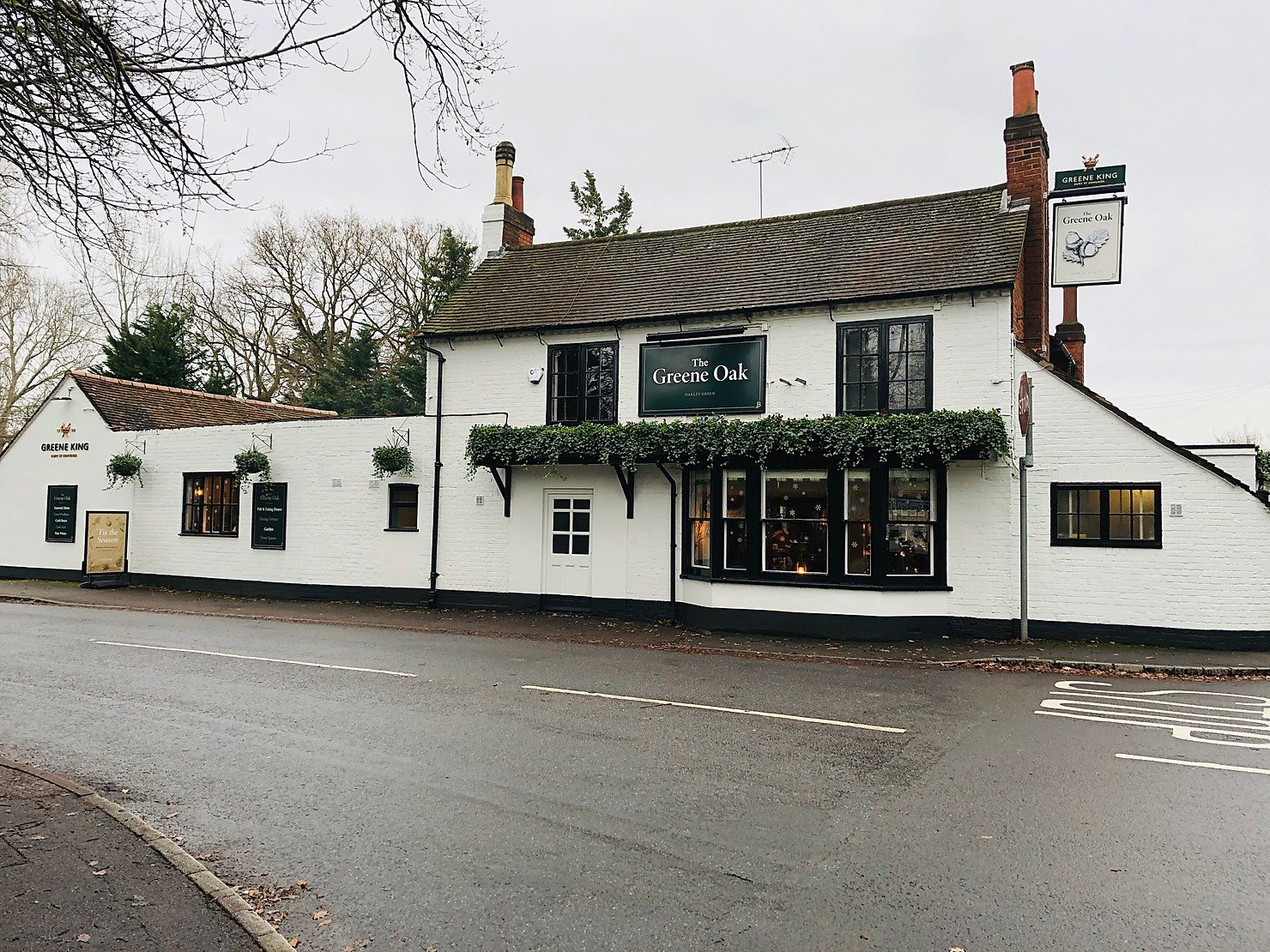 AD – Review // The Greene Oak, Oakley Green, Windsor