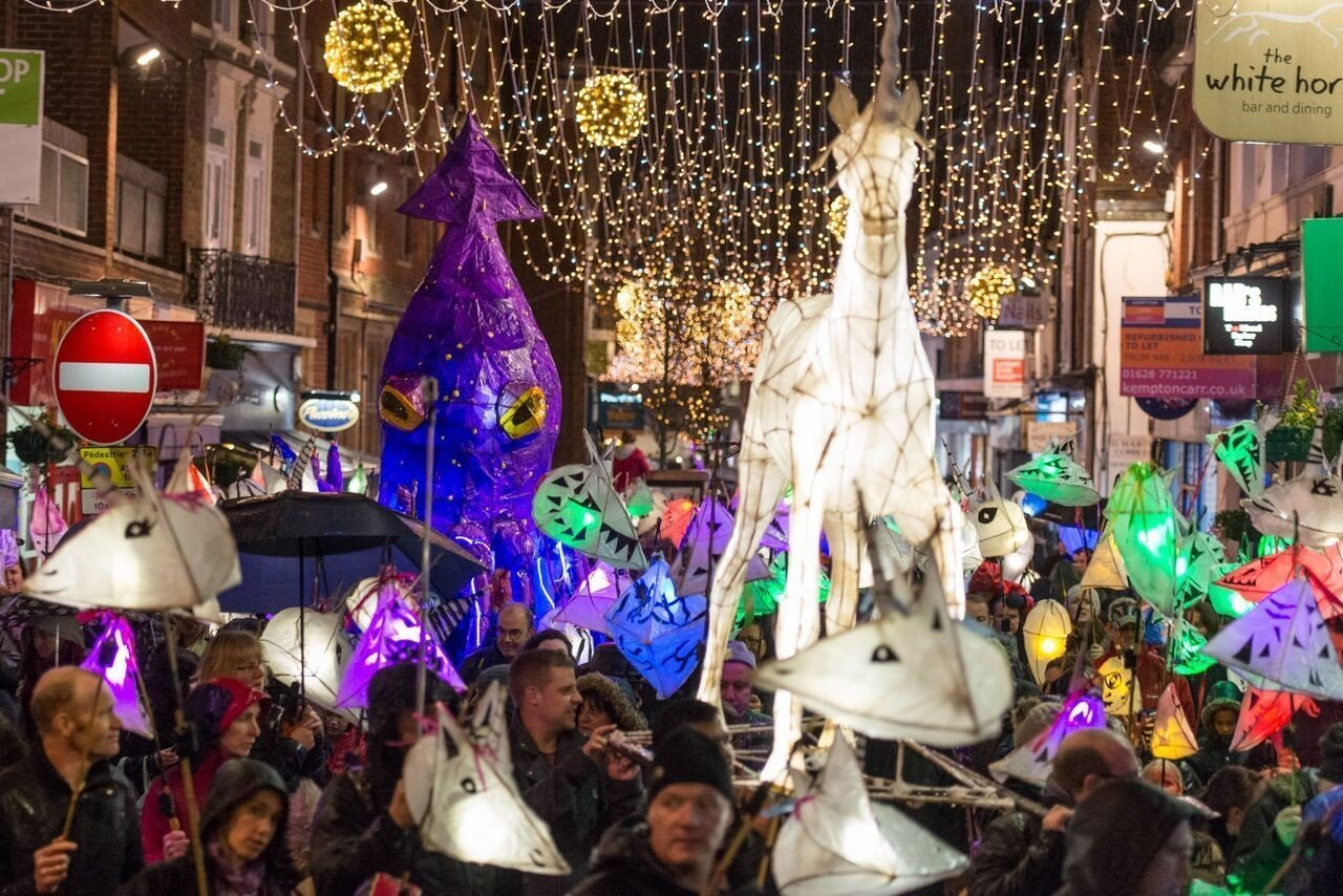 Norden Farm's annual Lantern Parade returns to Maidenhead for the 10th time!