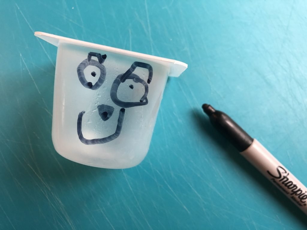 Drawing a Cress Head Face