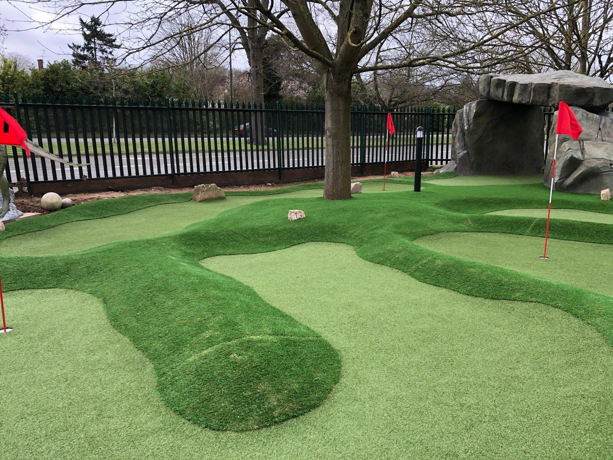 Mini Golf Course Berkshire