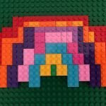 Build a Lego Rainbow