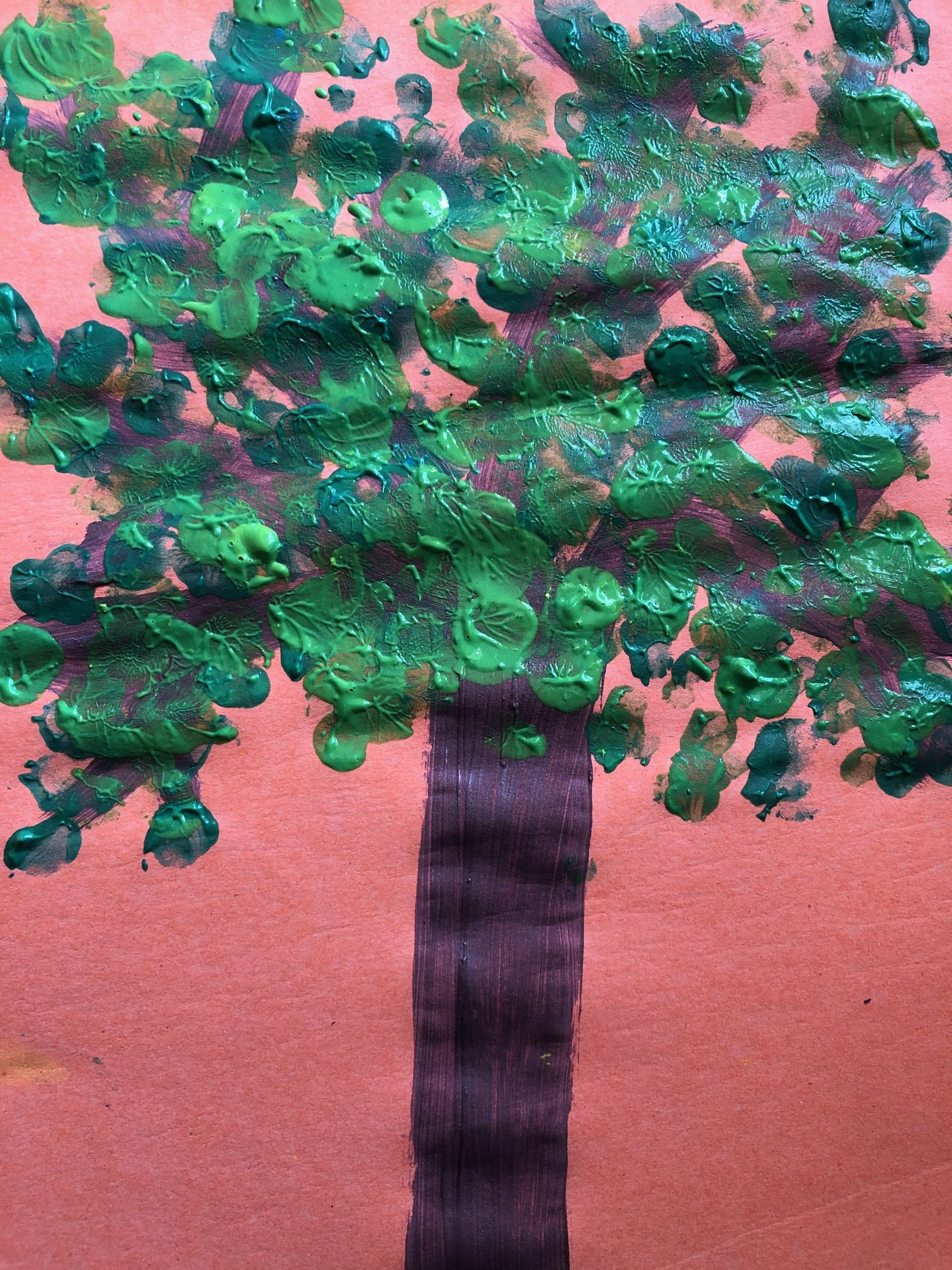 Finger print tree