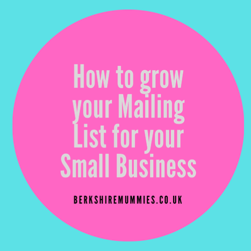How to grow your mailing list