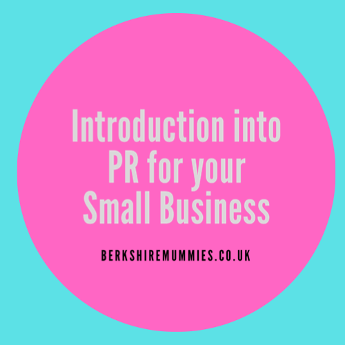Introduction To PR For Your Small Business
