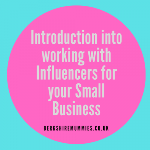 Working with influencers course