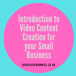 Introduction To Video Content Creation For Your Small Business