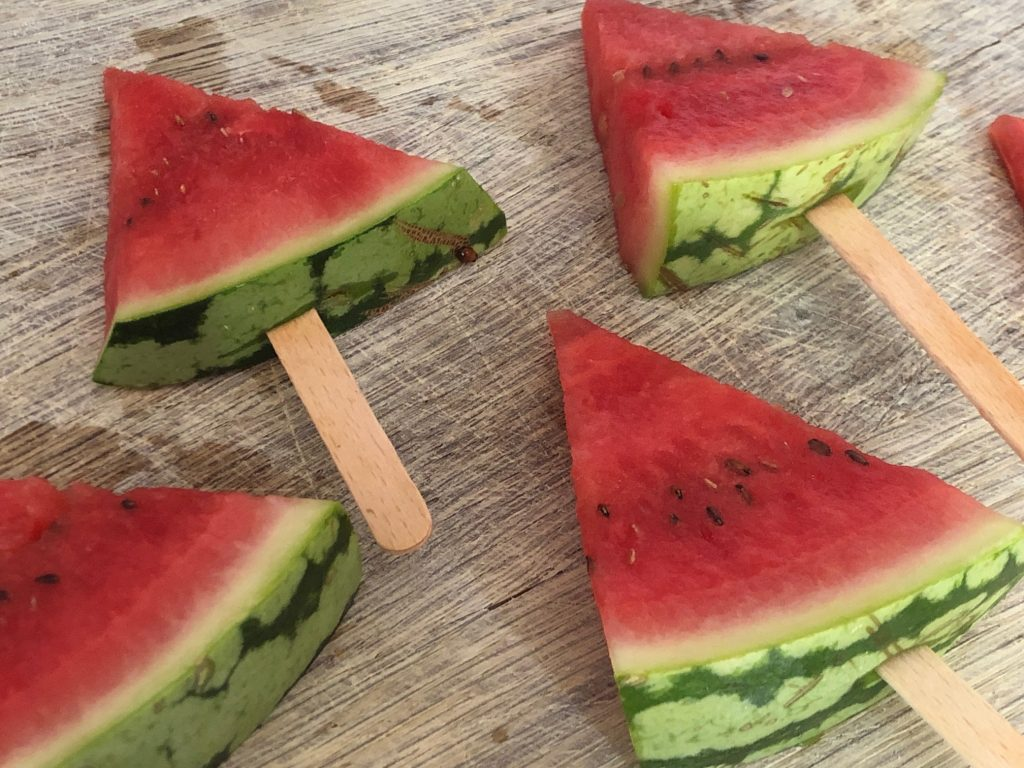 Watermelon Iced Lollies