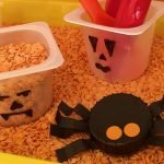 Halloween Mini Sensory Tray