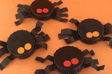 Bottle Top Spiders