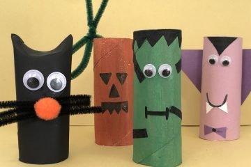 Halloween Cardboard Tubes