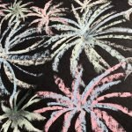 Chalk firework drawing