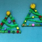Homemade Christmas Tree Craft